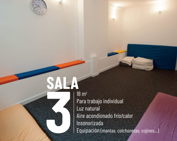 alquiler sala terapia barcelona